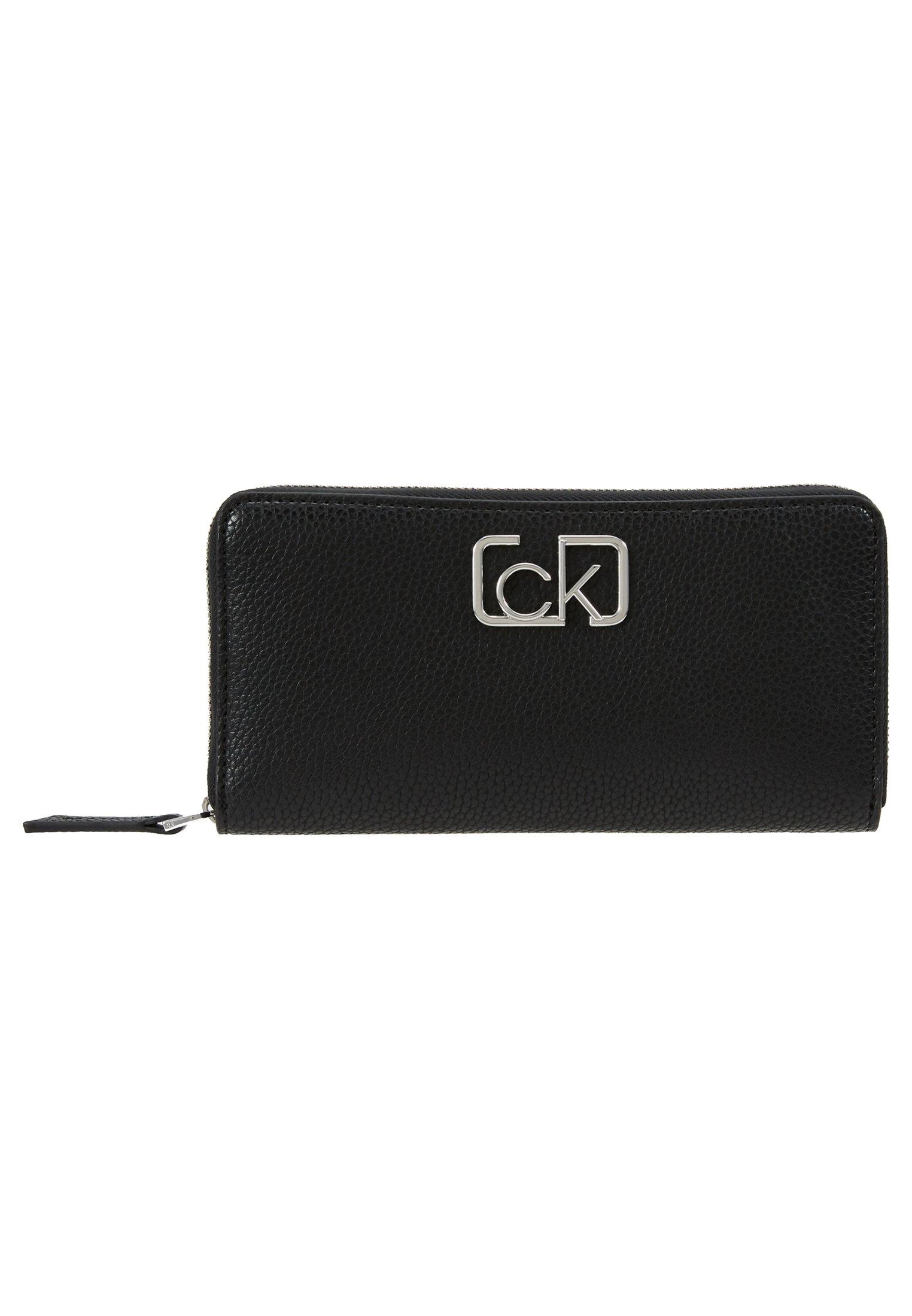 Calvin Klein Signature Ziparound - Plånbok Brown