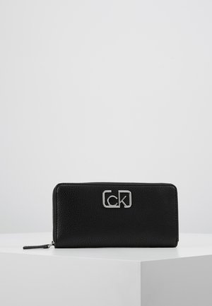 SIGNATURE ZIPAROUND - Wallet - black