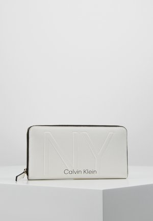 SHAPED ZIPAROUND - Wallet - white