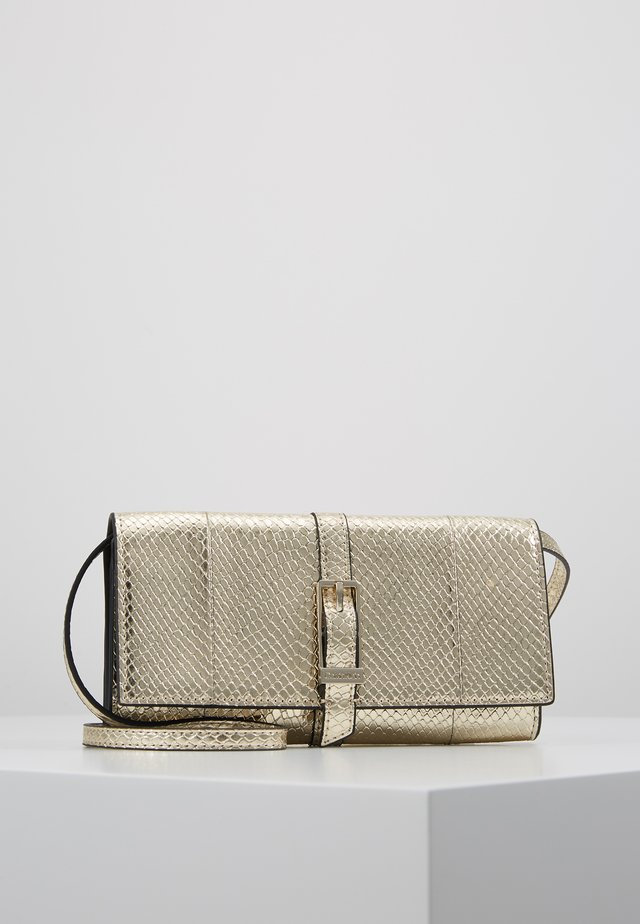 WINGED TRIFOLD ON STRING - Wallet - beige