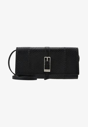 WINGED TRIFOLD ON STRING - Lommebok - black
