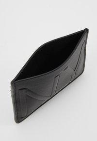 Calvin Klein - NY SHAPED HOLDER - Portemonnee - black - 5