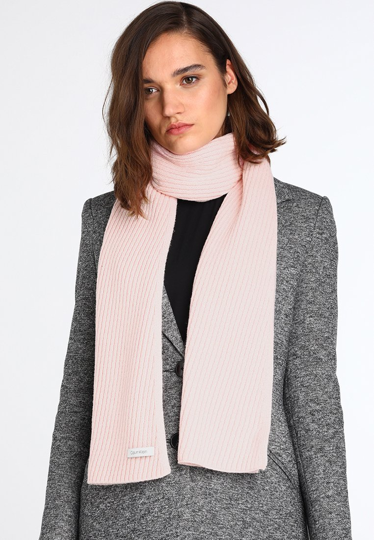 Calvin Klein - DIAGONAL SCARF - Szal - pink