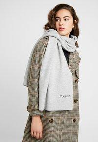 Calvin Klein - BOILED SCARF  - Halsduk - grey - 0