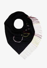 Calvin Klein - TRIANGULAR SCARF MULTI - Pañuelo - black - 1
