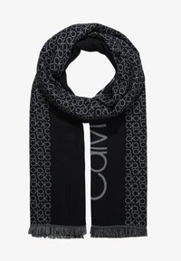 Calvin Klein - INDUSTRIAL MONO SCARF - Halsduk - black - 1