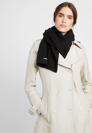 TRIPLE SCARF - Bufanda - black