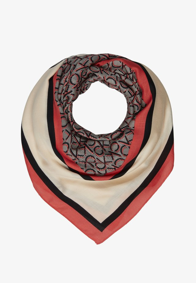 MONO SCARF - Scarf - red