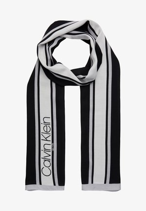 STRIPE SCARF - Scarf - black