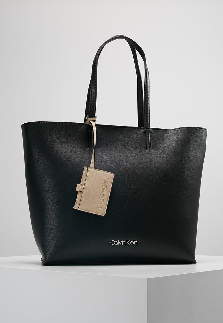 Calvin Klein - TACK SHOPPER - Tote bag - black