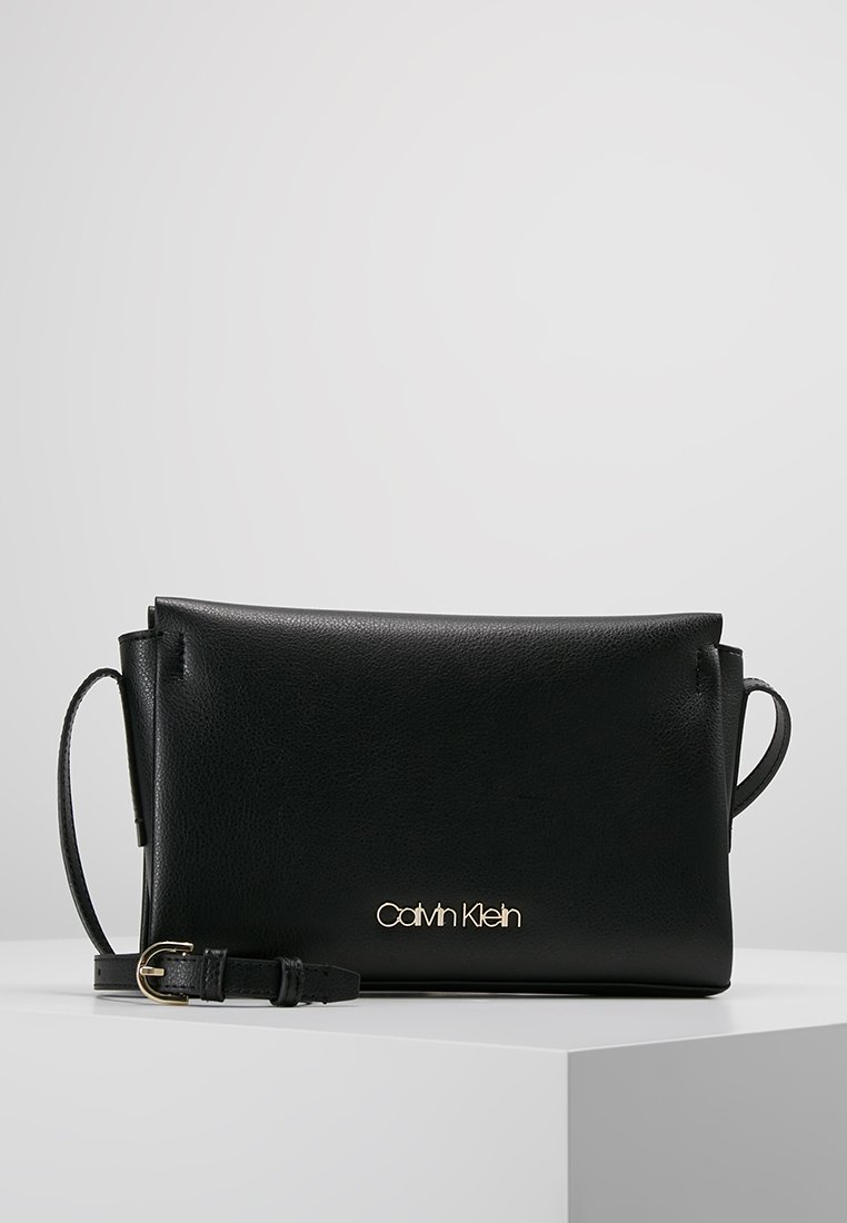 Calvin Klein - AVANT CROSSBODY - Skuldertasker - black