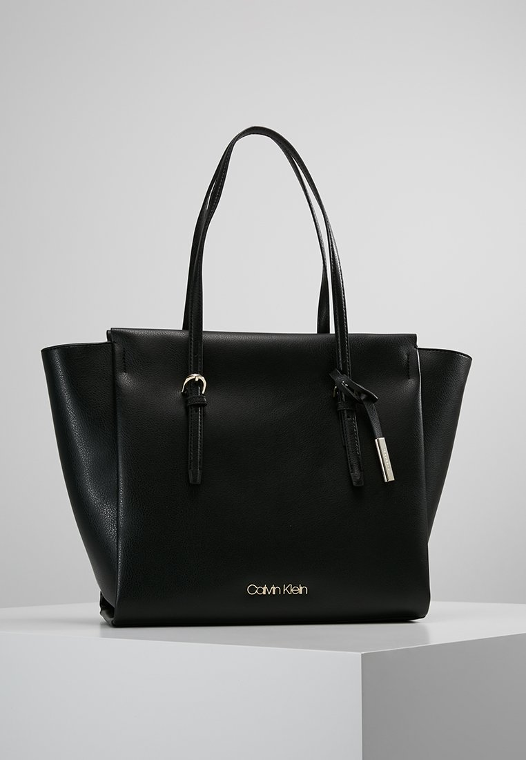 Calvin Klein - AVANT - Tote bag - black