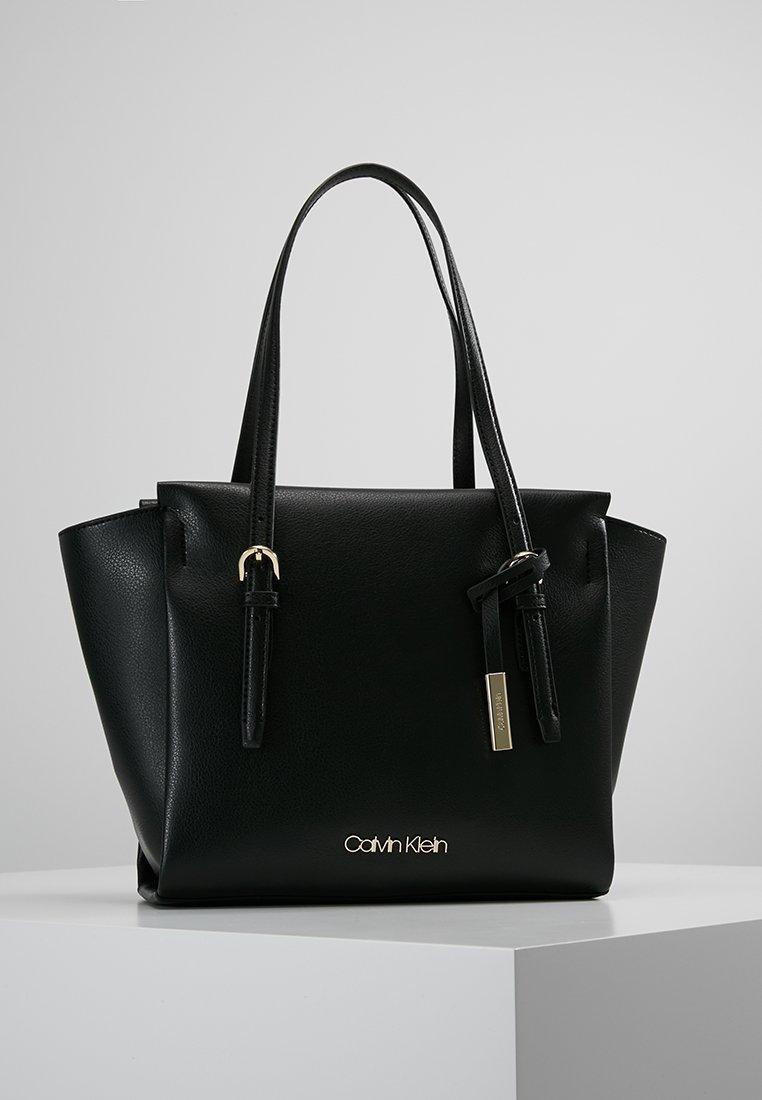 Calvin Klein - AVANT - Bolso shopping - black