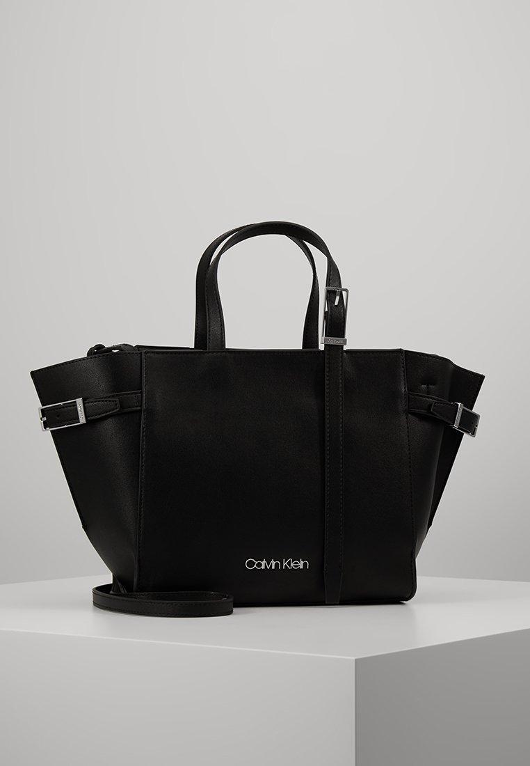 Calvin Klein - EXTENDED TOTE - Tote bag - black