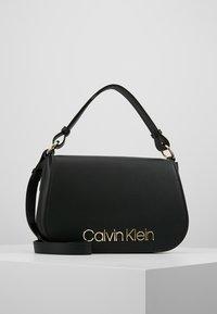 Calvin Klein - DRESSED UP SATCHEL - Håndveske - black - 0