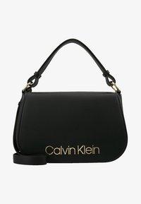 Calvin Klein - DRESSED UP SATCHEL - Håndveske - black - 5