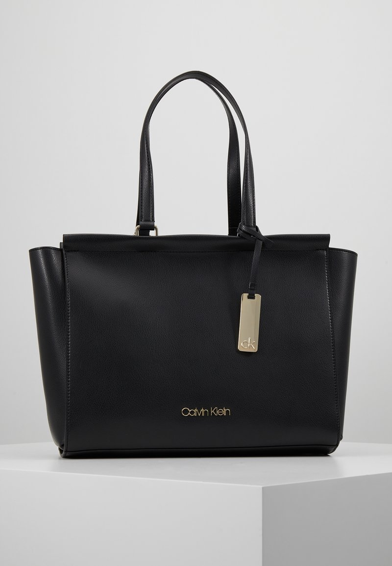 Calvin Klein - ENFOLD - Sac à main - black