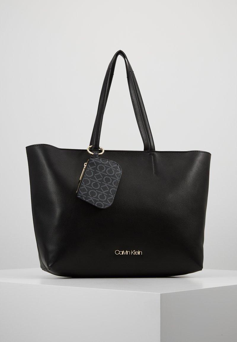 Calvin Klein - MUST SHOPPER SET - Handbag - black