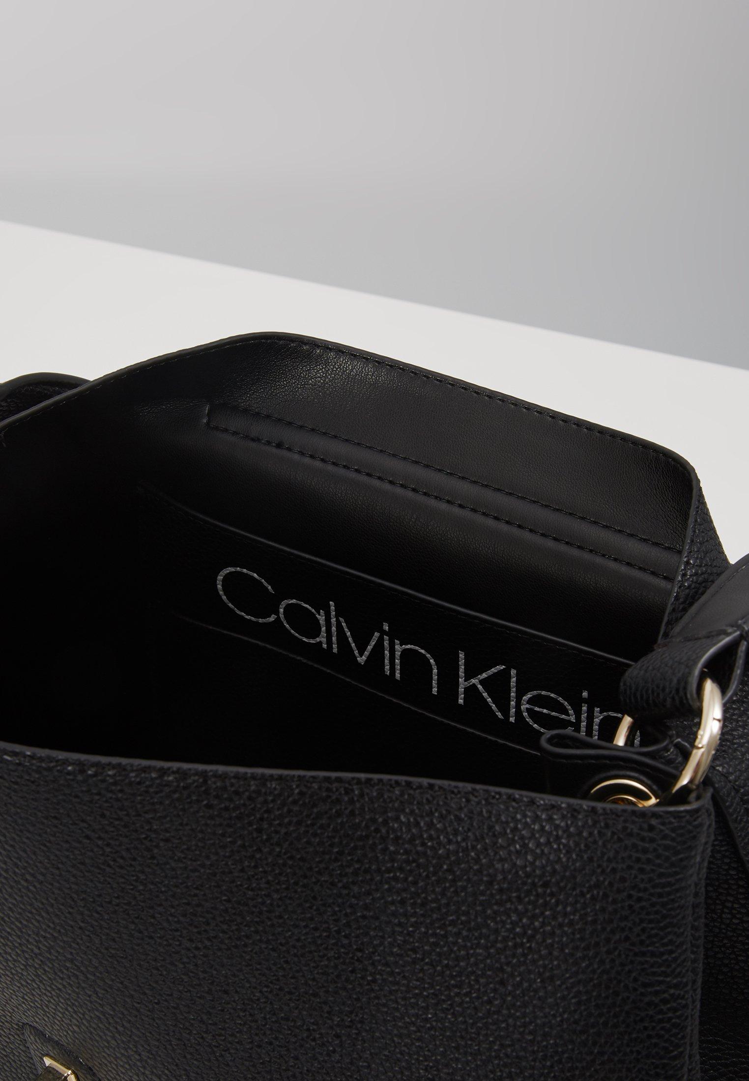 Black Handle Calvin Top Main Klein Lock SatchelSac À rdCBoexW