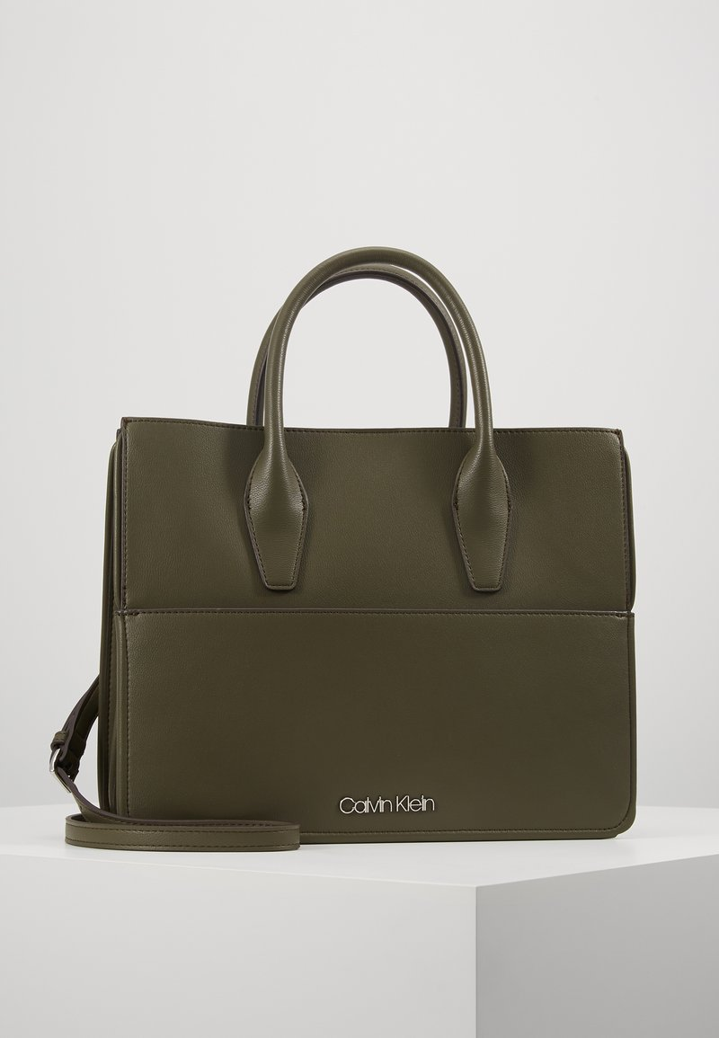 Calvin Klein - ASSORTED TOTE - Handtas - green