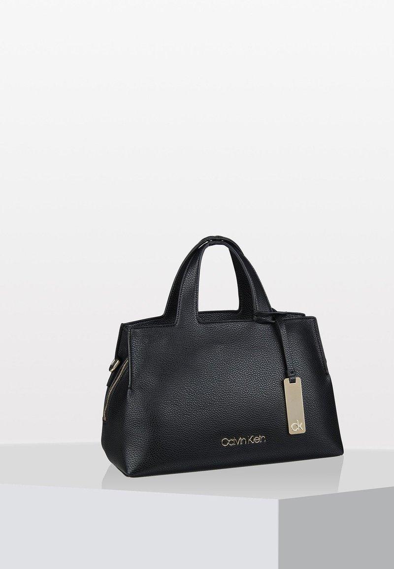 Calvin Klein - NEAT MED TOTE - Handbag - black