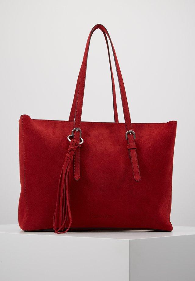 FRINGE - Shopping Bag - red