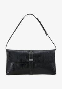 Calvin Klein - WINGED SHOULDER BAG - Handbag - black - 5