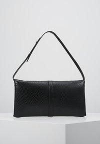 Calvin Klein - WINGED SHOULDER BAG - Handbag - black - 2