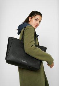 Calvin Klein - TASK - Velká kabelka - black - 1