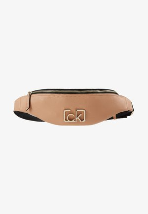 SIGNATURE WAISTBAG - Ledvinka - brown