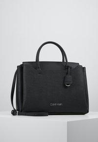 Calvin Klein - CK TASK TOTE - Handbag - black - 0