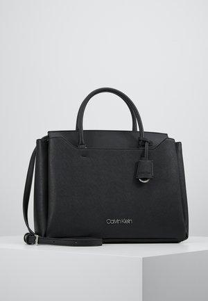CK TASK TOTE - Handbag - black