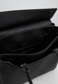 Calvin Klein - CK TASK TOTE - Handbag - black - 4