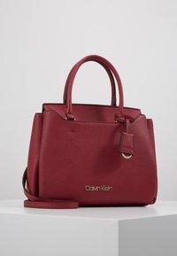 Calvin Klein - TASK TOTE - Torebka - red - 0