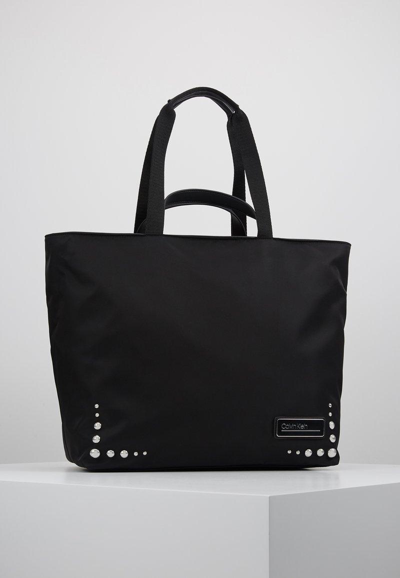 Calvin Klein - PRIMARY PSP20 SHOPPER ST - Bolso shopping - black