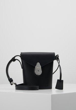 LOCK MICRO BUCKET - Across body bag - black