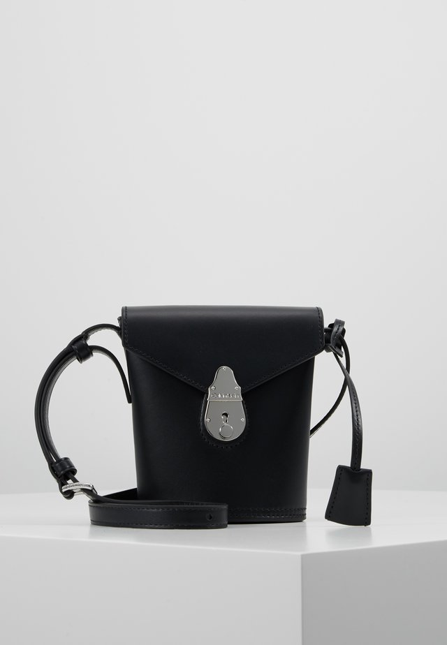LOCK MICRO BUCKET - Across body bag - black