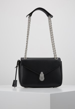 LOCK FLAP CROSSBODY - Sac bandoulière - black