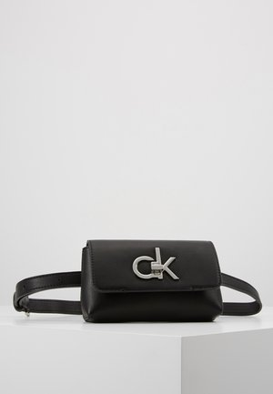 RE LOCK BELT BAG - Sac banane - black