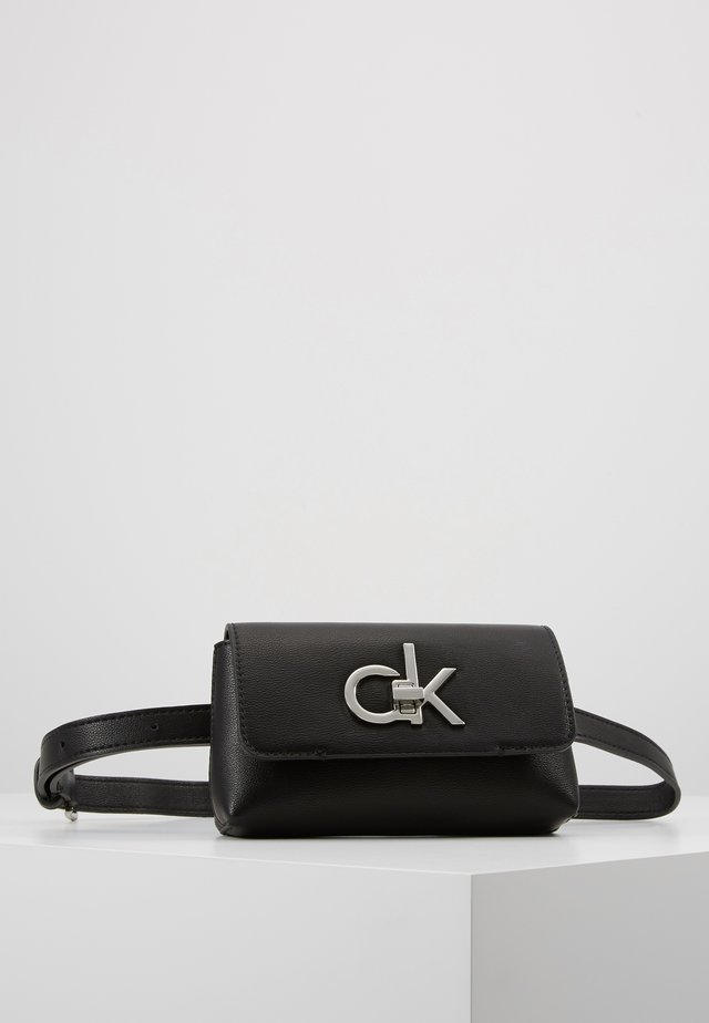 RE LOCK BELT BAG - Gürteltasche - black