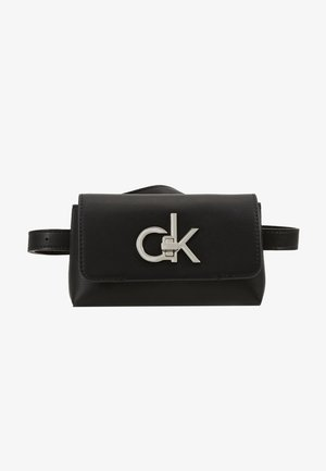 RE LOCK BELT BAG - Saszetka nerka - black