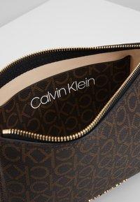 Calvin Klein - MONO CROSSBODY - Bandolera - brown - 4