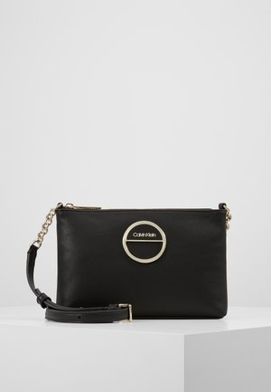 HOOP CROSSBODY - Sac bandoulière - black