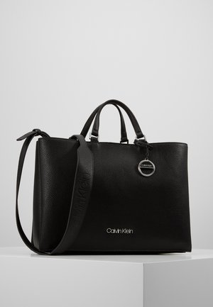 SIDED TOTE - Handtasche - black