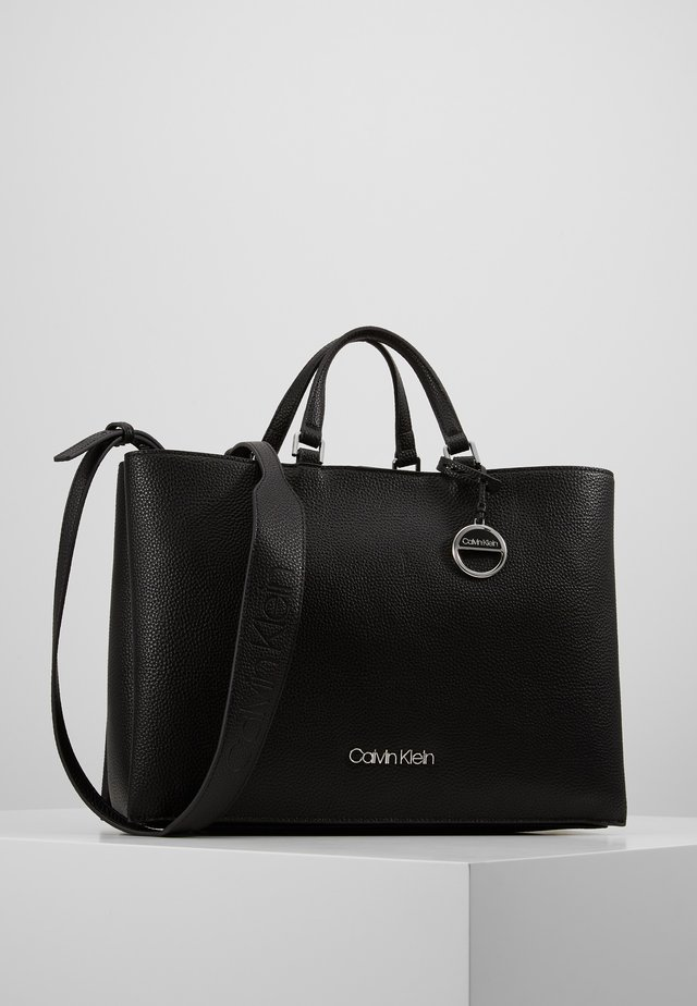 SIDED TOTE - Handtasche - black