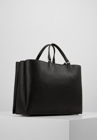Calvin Klein - SIDED TOTE - Håndveske - black - 2