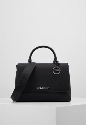 SIDED TOP HANDLE - Handbag - black