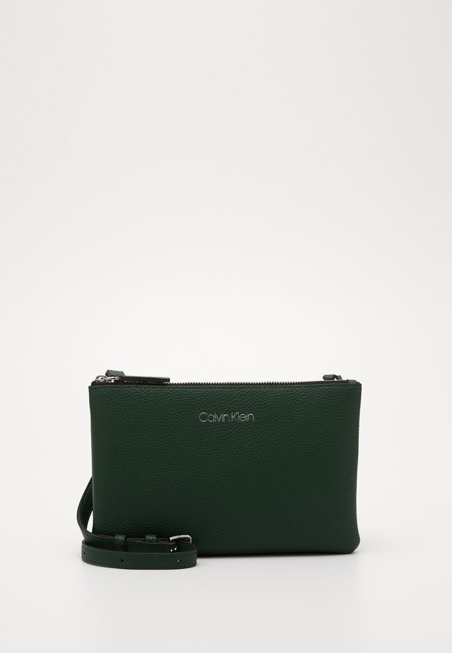 EVERYDAY DUO CROSSBODY - Axelremsväska - green