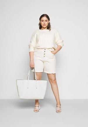 EVERYDAY OPEN SET - Shopping Bag - white
