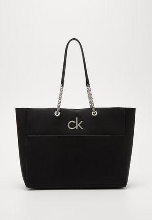 RELOCK SHOPPER - Shopping bag - black